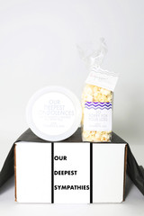"Sympathy Gift  - ""Our Deepest Sympathies"" - 2 Sweet treats"