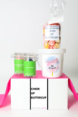 "Cheer Up Gift  - ""Cheer Up Buttercup"" - 4 Sweet treats"