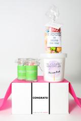 """Congrats Gift  - """"CONGRATS"""" - 4 Sweet treats"""