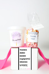 "Thank You Gift  - ""THANK YOU!"" - 2 Sweet treats"