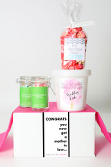"""Engagement Gift - """"YOU GET A MOTHER-IN-LAW!"""" - 4 Sweet treats"""