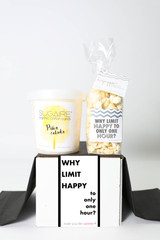 "Happy Hour Gift - ""WHY LIMIT HAPPY TO AN HOUR?"" - 2 Sweet treats"