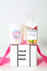 "Encouragement Gift - ""YOU ARE DOING GREAT!""- 2 Sweet treats"