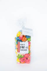 POPular Teacher - Teacher Appreciation Confetti HotPoppin Gourmet Popcorn Bag |  2 cup bag