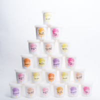 Sugaire | The Sweet Pint | 16oz Pint | Certified Organic Cotton Candy