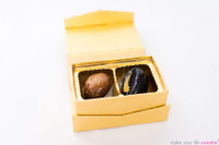 *CUSTOMIZED* ModSweets Artisanal Chocolate Box | 2 Piece Assortment | The Artisanal Chocolate Collection