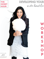 JOIN US FOR A VIRTUAL COFFEE DATE!   WORKSHOP: Join us as we try to combat Cabin Fever while Quarantining by launch a side hustle! {Ladies-Only)  Aside from her drive to make the world a little sweeter through sweet treats and philanthropic initiatives, Yasmeen Tadia also owns a start-up called Evolving Your Leadership, which focuses on business consulting, mentorship, HR assistance, career planning, and/or strategic development to support entrepreneurs and startups.  After lots of requests, our founder Yasmeen Tadia is offering 1 hour workshops, focusing on entrepreneurship, career planning, HR consulting, branding/marketing assistance and developing strategic plans.  From an open conversation about an idea to specific product development and marketing questions, Yasmeen is excited to share her tips and personal experiences to help walk small business owners and dreamers through their questions, challenges and concerns.  Sessions are 60 minutes over ZOOM video conference.    What you receive:  1 hour Workshop with some amazing people~ Sweet treat shipped to your home (if paid full price) 50% off select Make Your Life Sweeter products on the day of your workshop (valid day of workshop only)  All workshop sales are final.