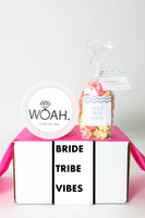 "Bridal Party Gift  - ""Bride Tribe Vibes"" - 2 Sweet treats"