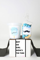 "Baby Gender Reveal  - ""Boy or Girl?"" - BOY - 2 Sweet treats"
