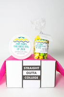 """Graduation Gift - """"Straight Outta Highschool/College"""" - Two sweet treats!"""