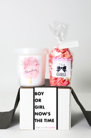 "Baby Gender Reveal  - ""Boy or Girl?"" - GIRL - 2 Sweet treats"