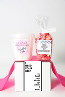 "Be My Bridesmaid Gift - ""I NEED YOUR HELP - 2 Sweet treats"