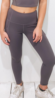 Leggings - Solid w/pocket