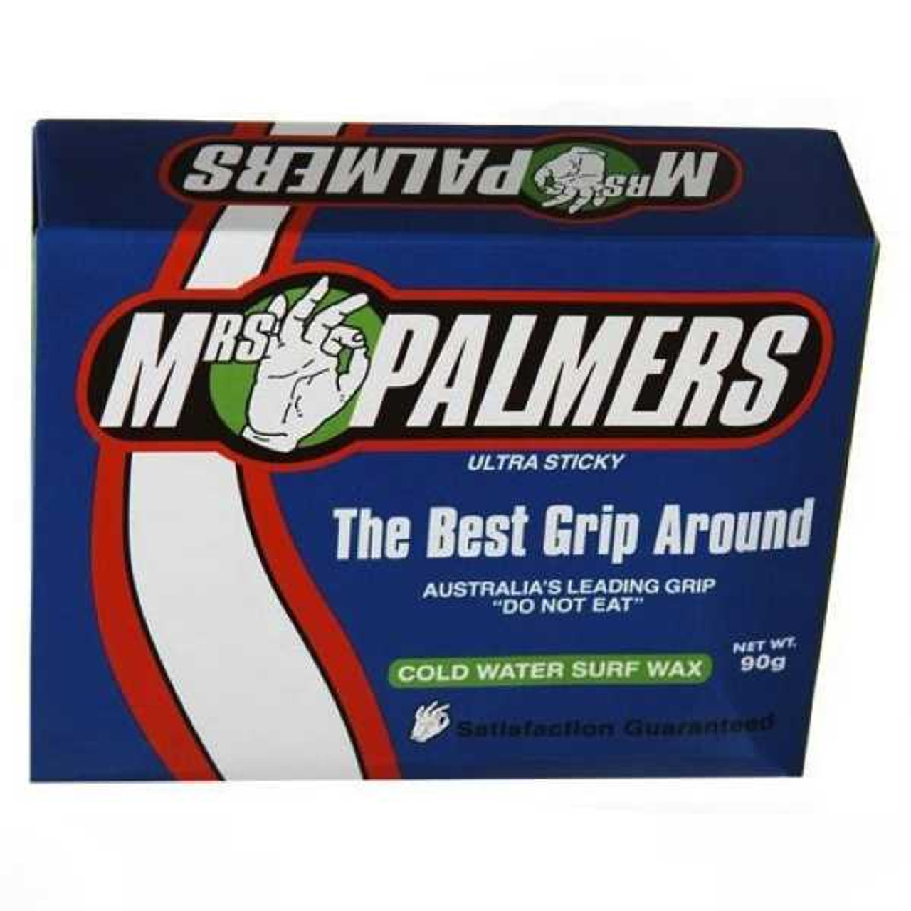 Mrs Palmers Surf Wax Base Cold and Cool Water 4 Block Pack NEW surfboard surfing