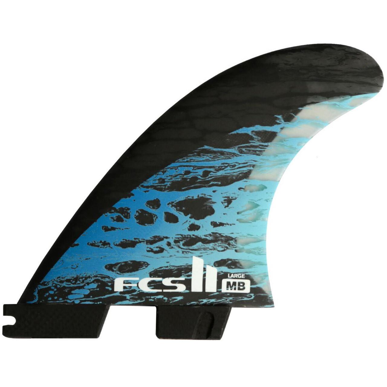 Buy FCS 2 Matt Biolos NEW Large Thruster Fin Set Online  182ab71ec