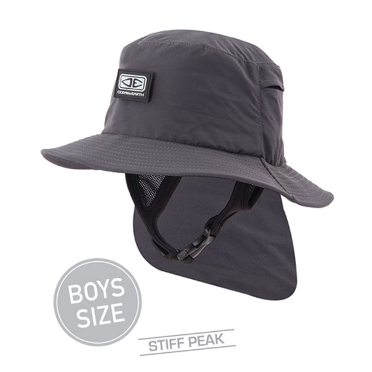 FAR KING H20 SURF CAP BLACK SURFING HAT