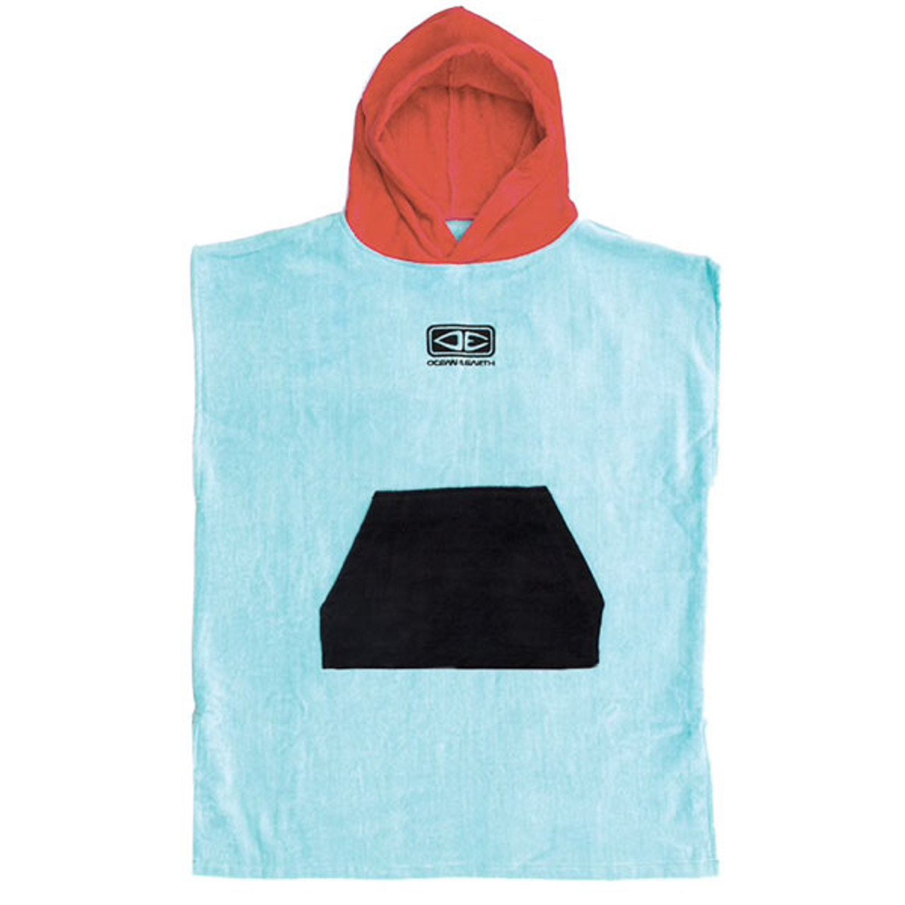 Toddlers Hooded Towel Surf Poncho   Blue   Groms   Kids