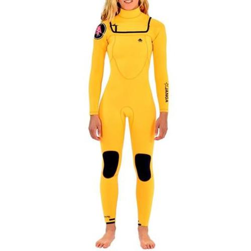 Lemon Squash Minimal Steamer 3/3mm | JANGA in Australia | Full Surfing Wetsuit | Ladies | Womens | 1 Available | Size 10