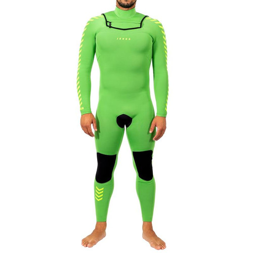 Copycat Steamer | Kiwi Green | SMALL / MEDIUM Mens | Full Surfing Wetsuit 3/3mm | JANGA in Australia | Special Release | 1 Available