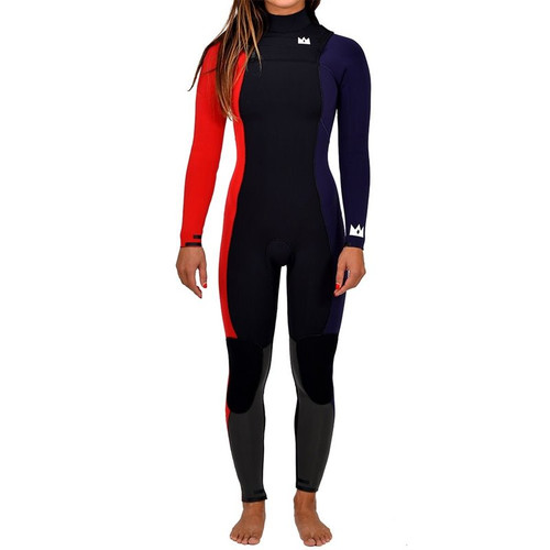 Queen Rock (Team Edition) Steamer 4/3mm | JANGA in Australia | Full Surfing Wetsuit | Ladies | Womens | 1 Available | Size 8