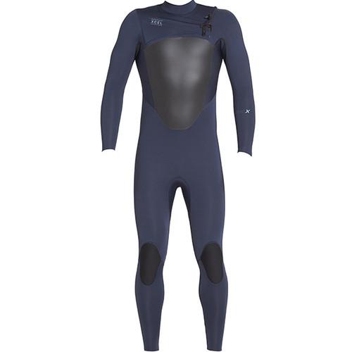 Axis X Steamer 3:2mm   X2 Chest Zip   Blue   Xcel Surfing Wetsuit