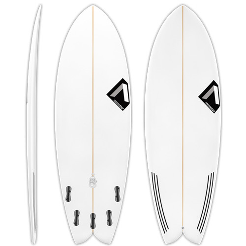 Flying Fish | Annesley Surfboards | Super Fun Grovel | Small Wave Summer Surf Board | High Volume