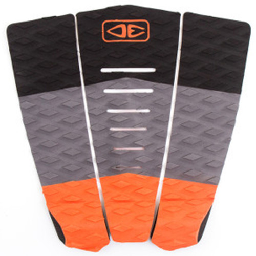 Blazed Tail Pad |  Surfboard Deck Grip | Orange | Ocean and Earth | Traction Pad | Surfing Tailpad |