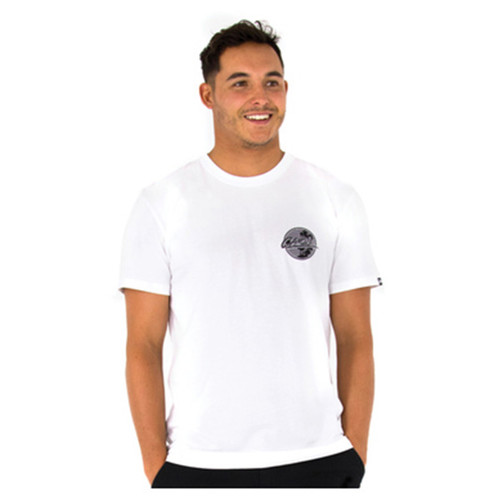 Sunset Fades White Tee Shirt | Carve | T-Shirt | Clothing | Surf Wear | Beach Gear | Casual Apparel For Surfers