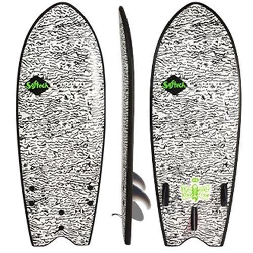Kyuss King Fish | Softech | Softboard | Foam Surf Board | Learners to Advanced