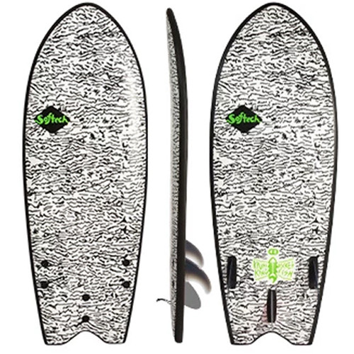 Kyuss King Fish | Softech | Softboard | Foam Surf Board | Learners to Advanced