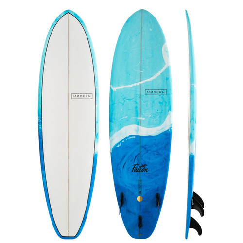 Falcon | Modern Surfboards | Fiberglass | Ideal For Progression | Suits Surfers That Want To Get To Intermediate Skill Level