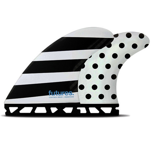 Jack Freestone Control | Thruster 3 Fin Set | Surfboard Fins | Futures Fins | Suits Punchy and Heavier Surf