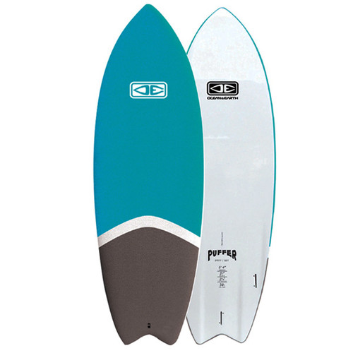 Puffer Fish | Ocean and Earth | Epoxy Softboard | Performance Soft Surfboard |