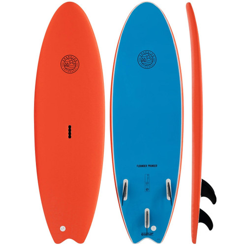 Flounder Pounder | Softboard | Gnaraloo Surfboards | Learner Surfboard For Kids