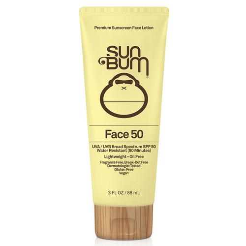 Sun Bum Face Sunscreen SPF50+ | 88ml | Reef Friendly Sun Protection