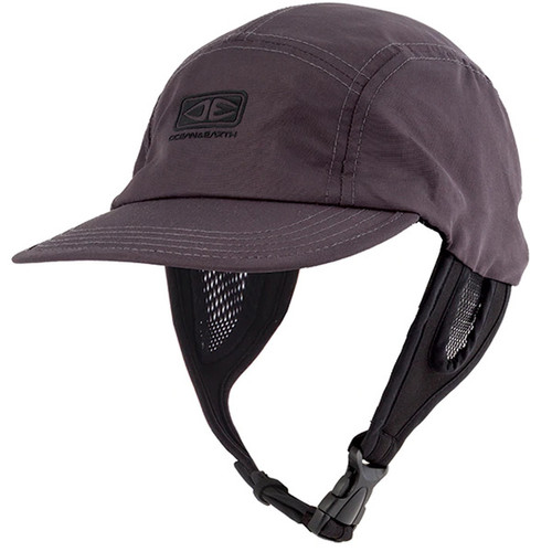 Ulu Dark Surf Cap | Hat For Surfing | Adjustable Chin Strap | Ocean and Earth