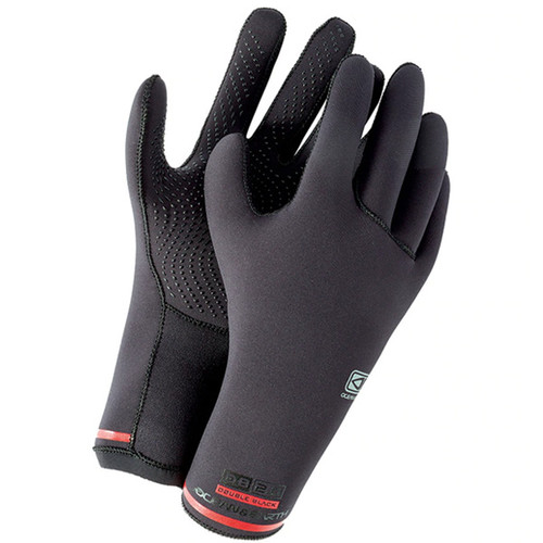 Double Black 2mm Surf Gloves | Cold Water Surfing Essential | Wetsuit Gloves | Ocean and Earth