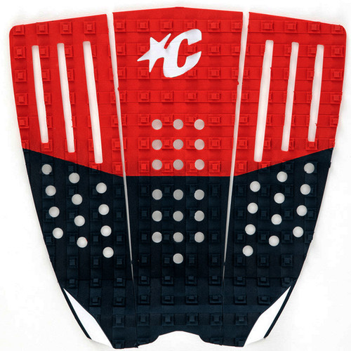 Team Series USA Tail Pad | Surfboard Deck Grip | Creatures of Leisure | Surfing Traction Pad