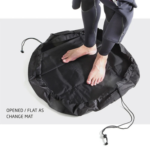 Surf Change Mat converts to a Bag | Holds 2 wetsuits | Creatures of Leisure