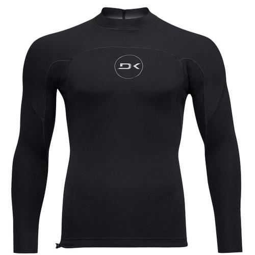Dakine Mission 1mm Long Sleeve Wetsuit Top | Black | Surf Vest | Surfing Jacket | New Season