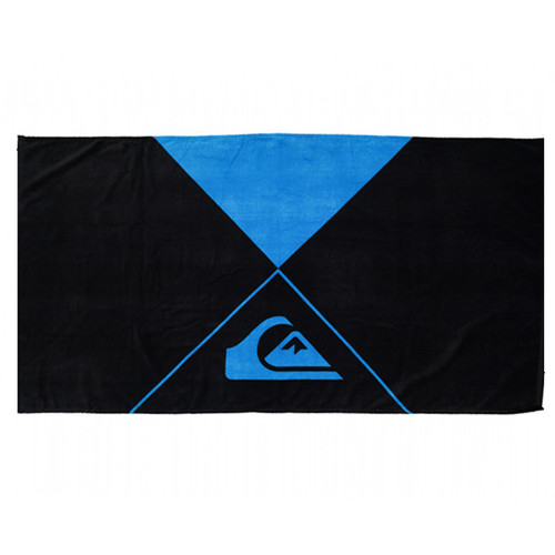 New Wave Quiksilver Surf Towel | Back and Blue | Beach Towel |