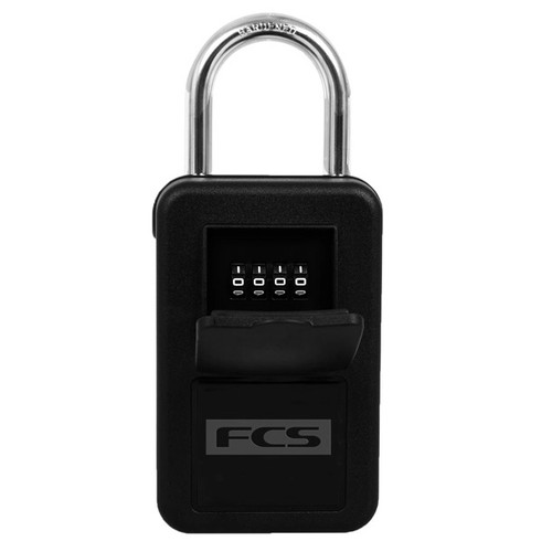 FCS Key Safe Lock | Car Key Security Safe | FCSII | Black | Surfers Padlock