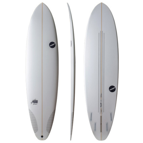 The Cheater Surfboard | Mid-Length | Shortboard and Longboard Combo