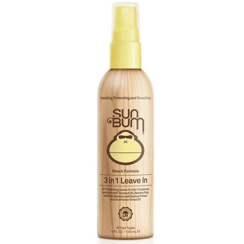 Sun Bum Leave In Revitalizing Conditioner | Beach Lovers Conditioner | Hair Product for Surfers