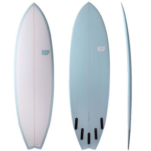 Kingfish | NSP Surfboards | Mushy Weak Surf Conditions | Great for Intermediates