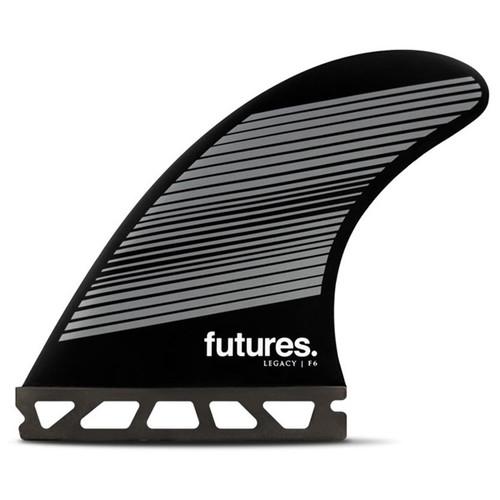 F6 Legacy | Medium | Quad 4 Fin Set | Honeycomb | Futures Fins | Suits Surfers 65-88kg | Balanced All Round Fin