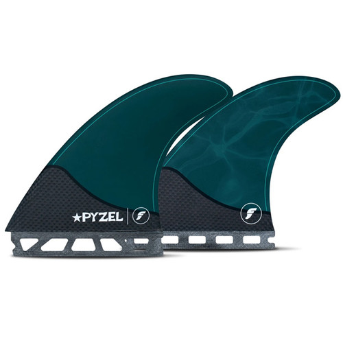 Pyzel   Large   Tri-Quad 5 Fin Set   Futures Fins   Suits Surfers 80kg+   Springy and Manoeuvrable