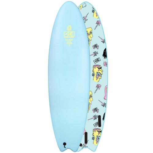 Brains EZI-Rider | Learner Softboard | Ocean and Earth | Beginner Foam Surfboard