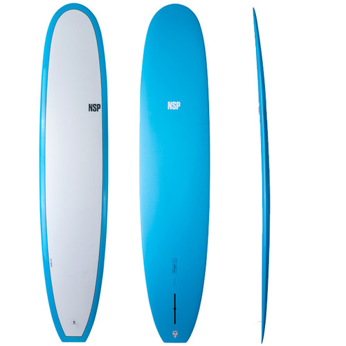 Sleepwalker Longboard | Elements | Single Fin Setup | NSP Surfboards | Classic Style Malibu