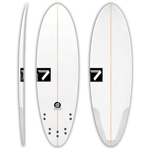 Disc | Funboard | Annesley Surfboards | Small Wave Ripper |